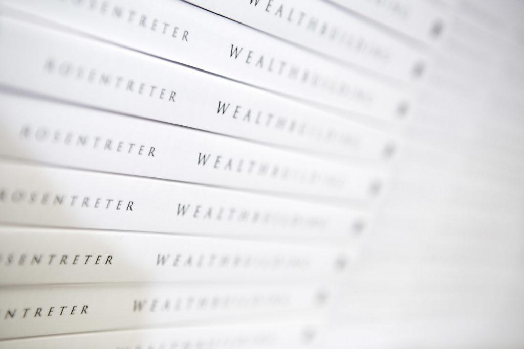 Kurt Rosentreter WealthBuilding Book Stack